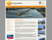 Website der Aktiv Solarstrom GmbH aus Radebeul