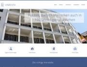 Website der Varenta Holding GmbH aus Berlin